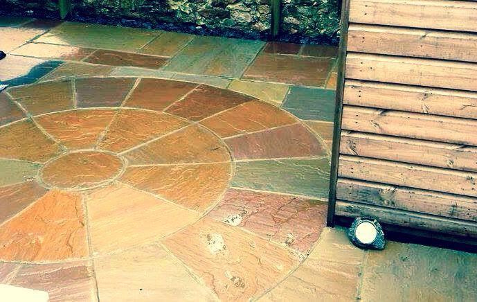 Raj Sandstone Circle
