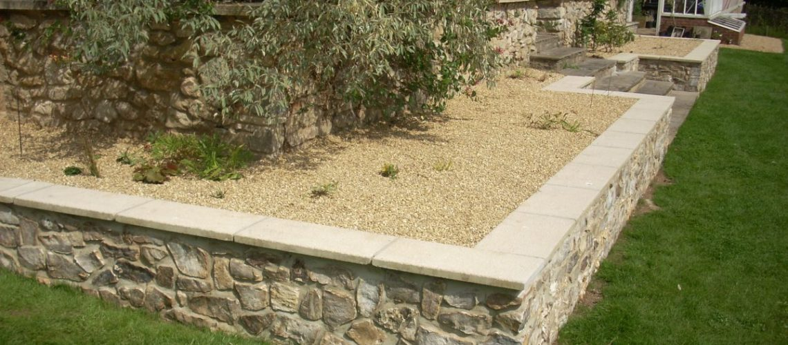 10-6mm Flint Gravel Raised Bed