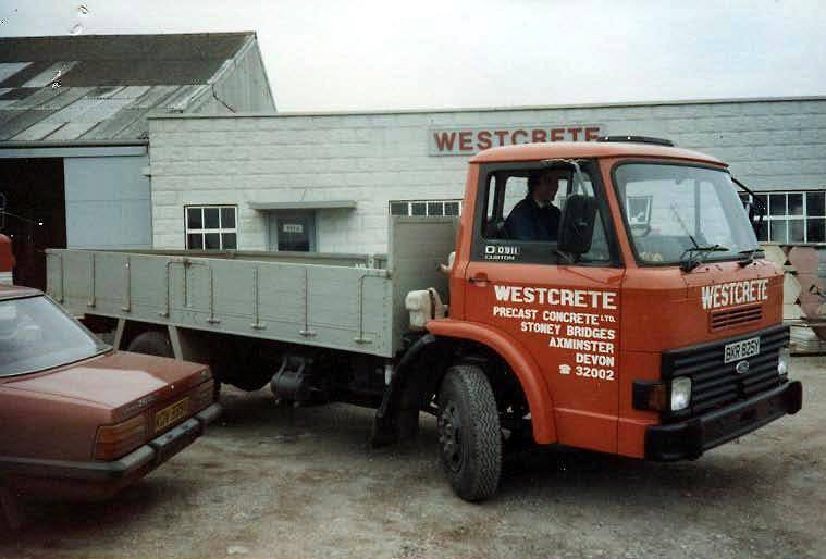 Flatbed Lorry 1982