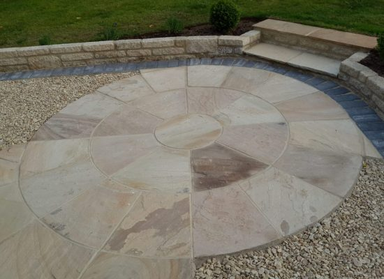 Centerpiece Sandstone Circle