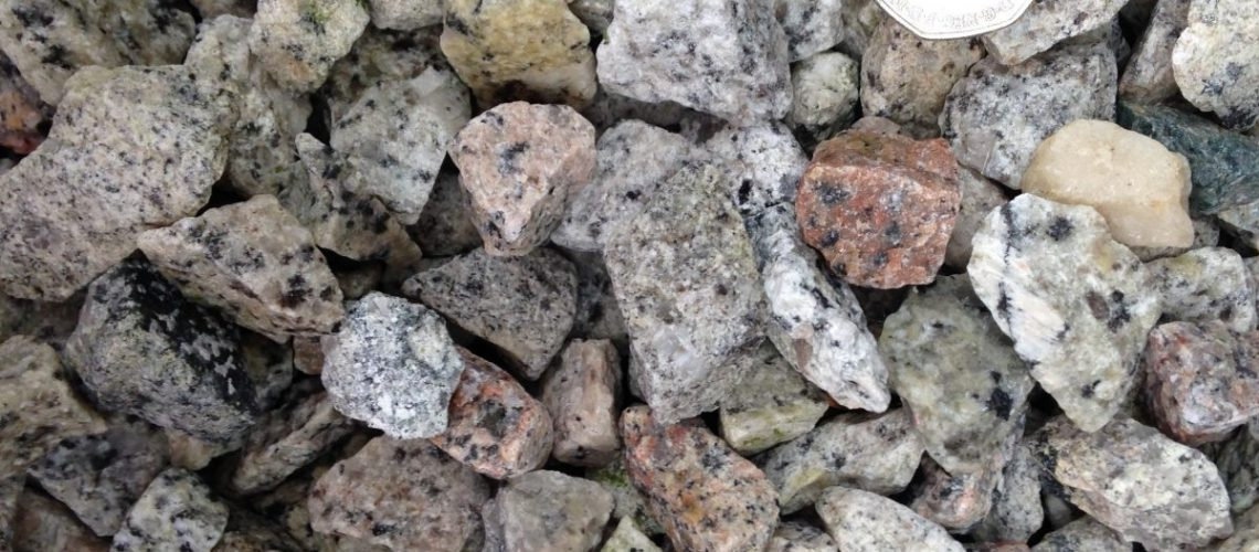 20mm Multi Granite Chippings
