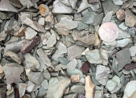 20mm Green Slate Chippings