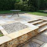 Mint Fossil Sandstone, Sandstone, Natural Stone, Pebbles, Landscaping Supplies, East Devon, West Dorset, South Somerset. Dorset, Devon, Somerset, Landscaping