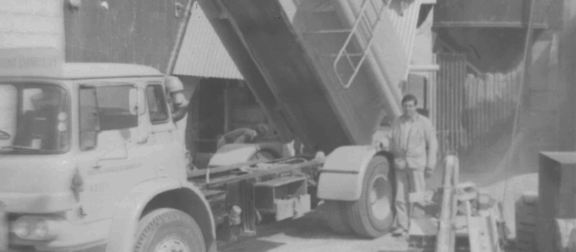 Swinging 60's Cement Delivery