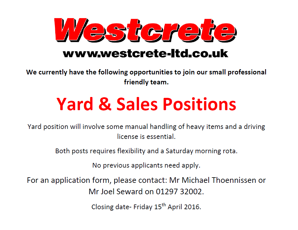 Yard & Sales