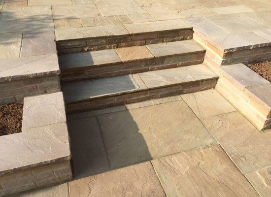 Steps in Sandstone!