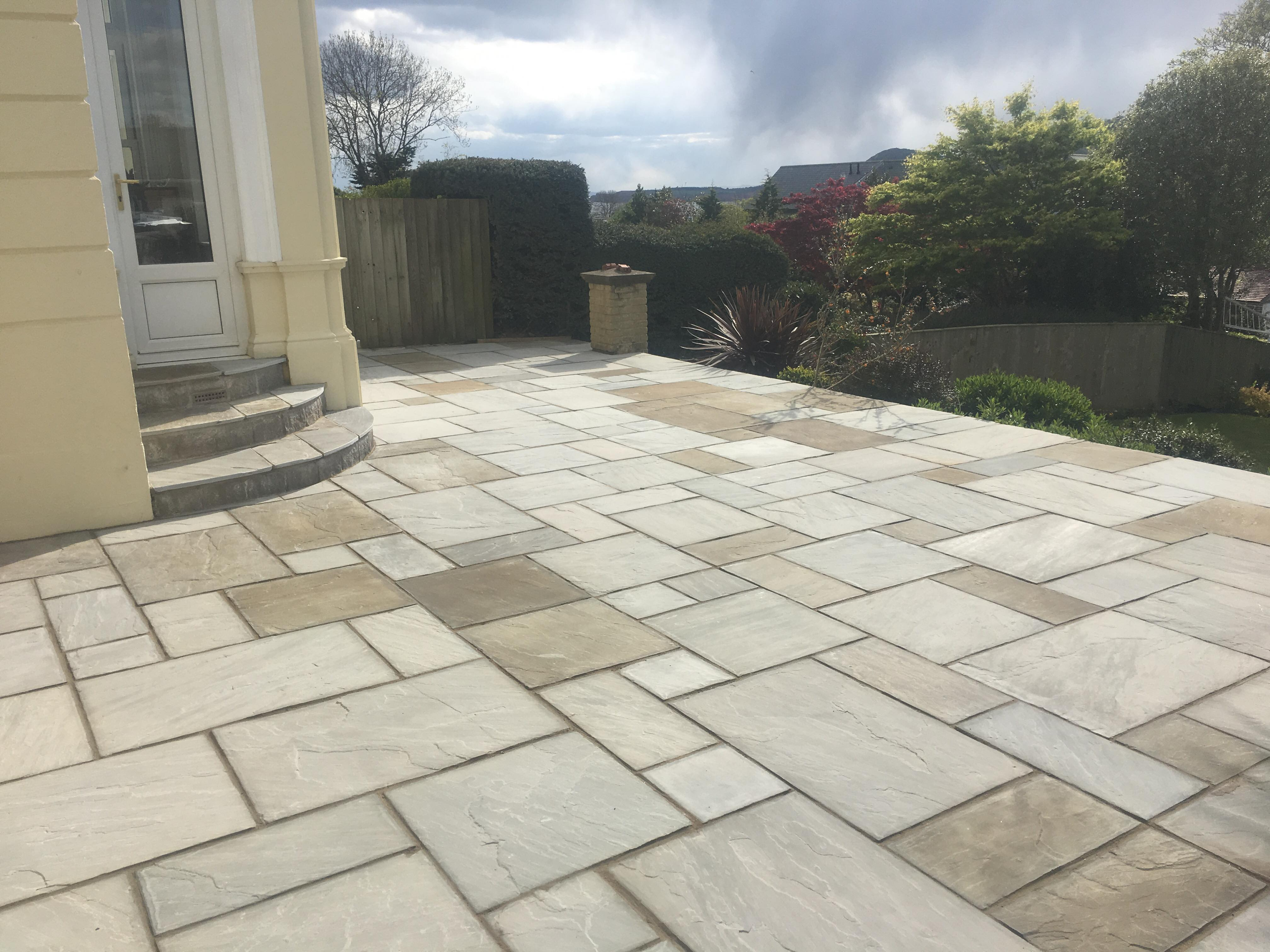 Dry Sandstone Patio