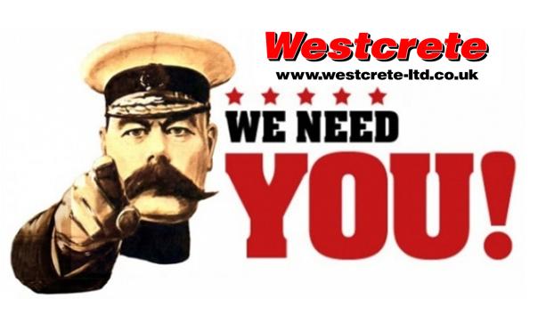 westcrete needs you