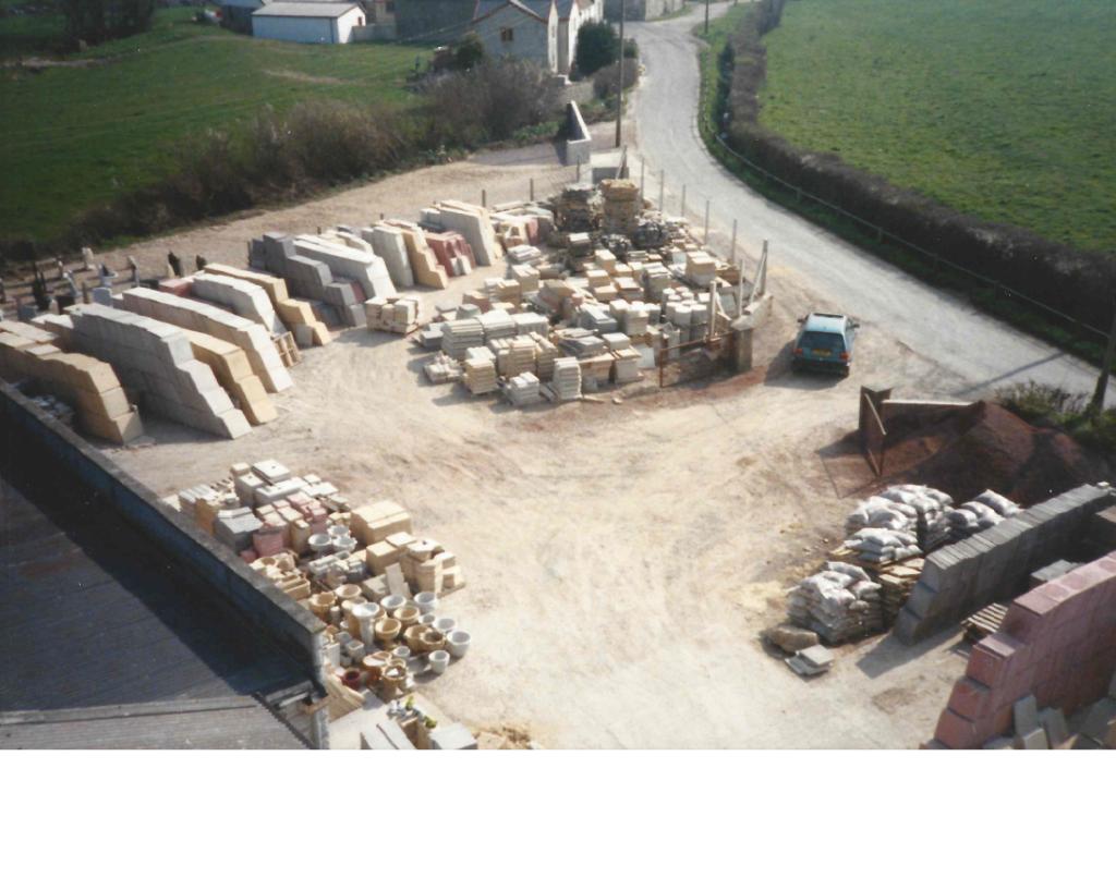 Yard 1980s