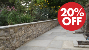 Natural Indian Stone Special Offer 20% Off* Selected Colours when purchasing full crates delivery charge may apply