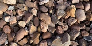 20mm Pink Rounded Gravel Decorative Stone