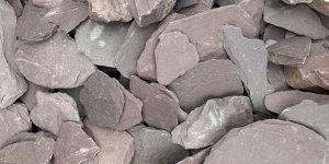 40mm Plum Slate Chippings Welsh
