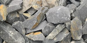 40mm Graphite Slate Chippings Welsh Slate